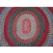 American Folk Art  Hooked Rug  |  R5912