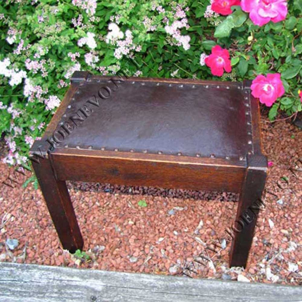 Antique Stickley Bros Footstool | w2542