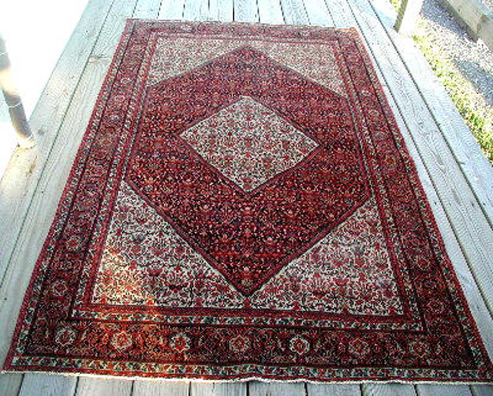 Antique Sarough Farahan cr 1890's  |  R6073