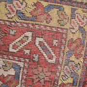 great antique Caucasian runner from the mid 1800 oriental rug  |  rr2456