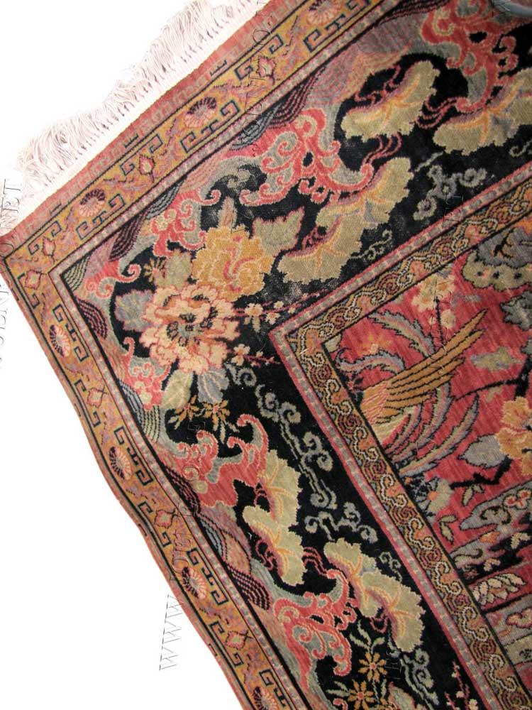 Superb Antique Anglo Persian Wilton Rug Joenevo