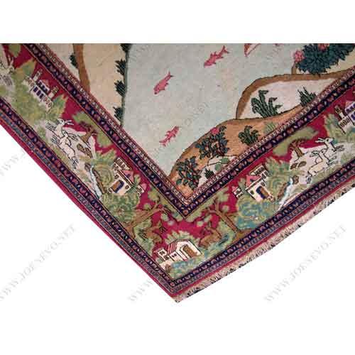 Rare  Semi  Antique  Persian  Kashan  Oriental  Rug  |  rr2791