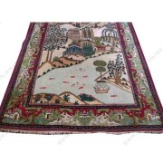Rare  Semi  Antique  Persian  Kashan  Oriental  Rug  |  rr2791