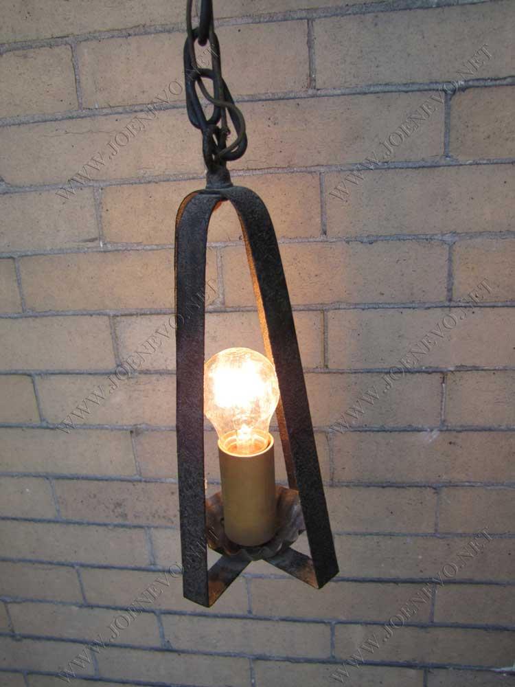 Antique  Arts & Crafts  Hanging  Lantern  |  W2747