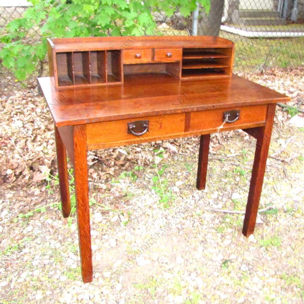 Superb Antique  Gustav Stickley  Desk  |  w3164