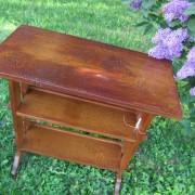 Superb Antique Roycroft Bookstand / End Table   W3343