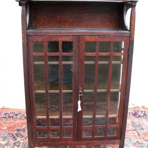 Superb Charles Limbert  China Cabinet Model #412  |  w1933