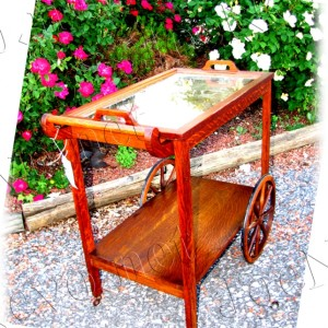 Stickley Bros Tea Cart   |  W2292