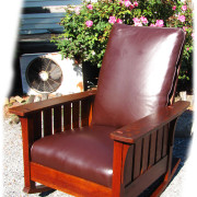 L&jg Stickley  Superb Antique L&jg Stickley  Large And Rare  – Model Number #475 – Arm Rocker  |  w2493