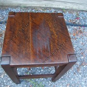 Antique Stickley Bros  Small Table Tabouret  |  W2874