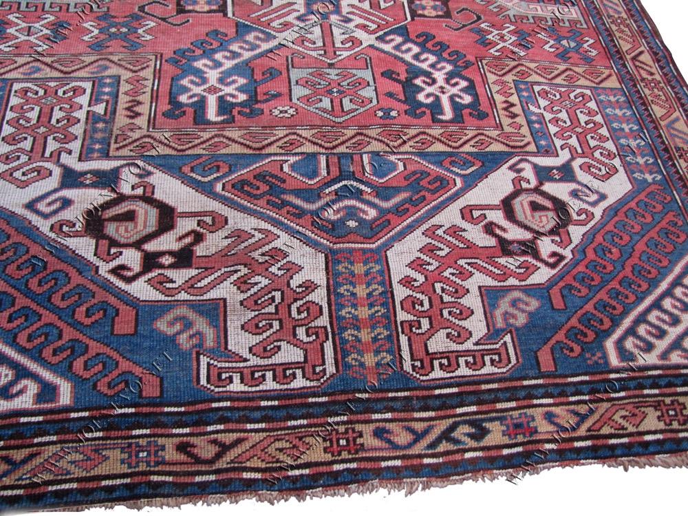 Antique Caucasian Kazak r9413