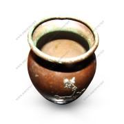 "Antique  ""heintz""  Small Bronze And Silver  Vase     W2954"