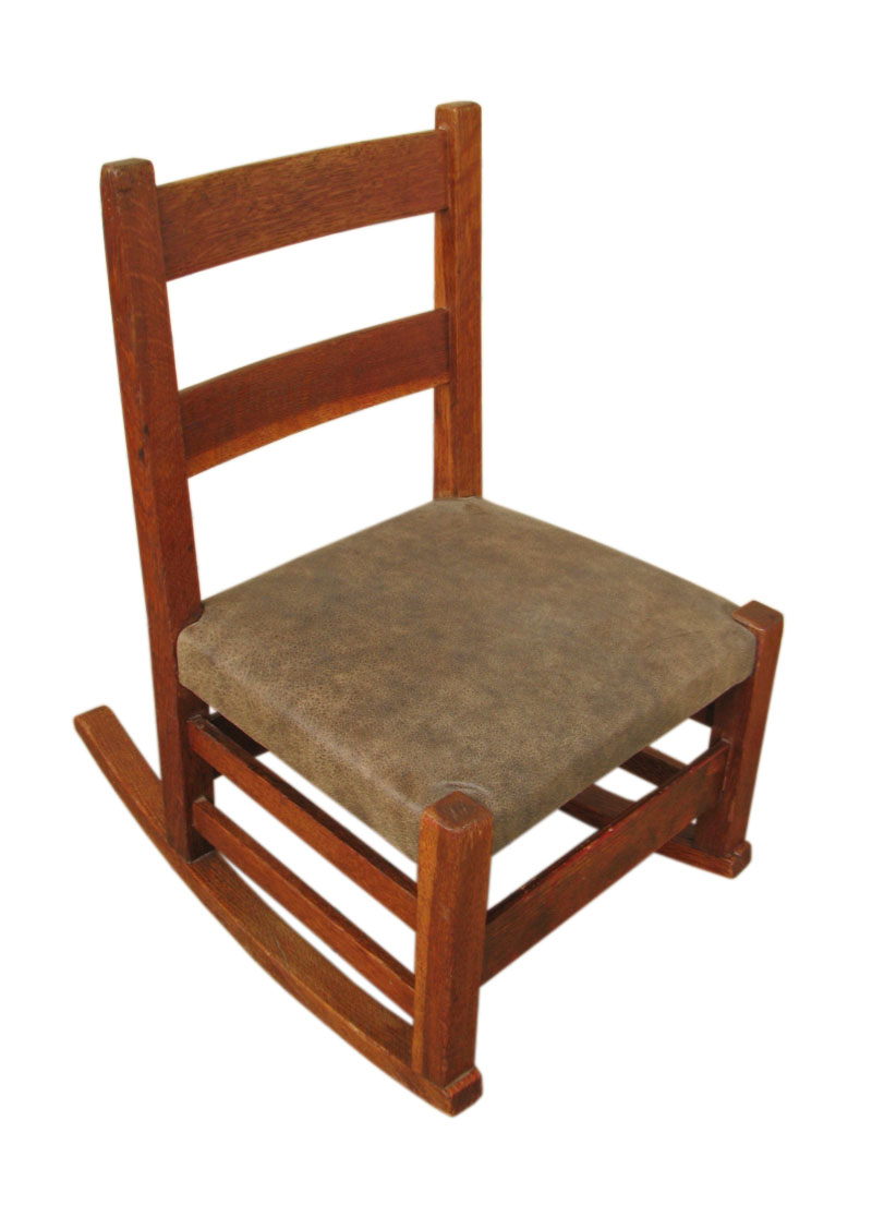 Gustav Stickley  Child Rocker  |  F1046