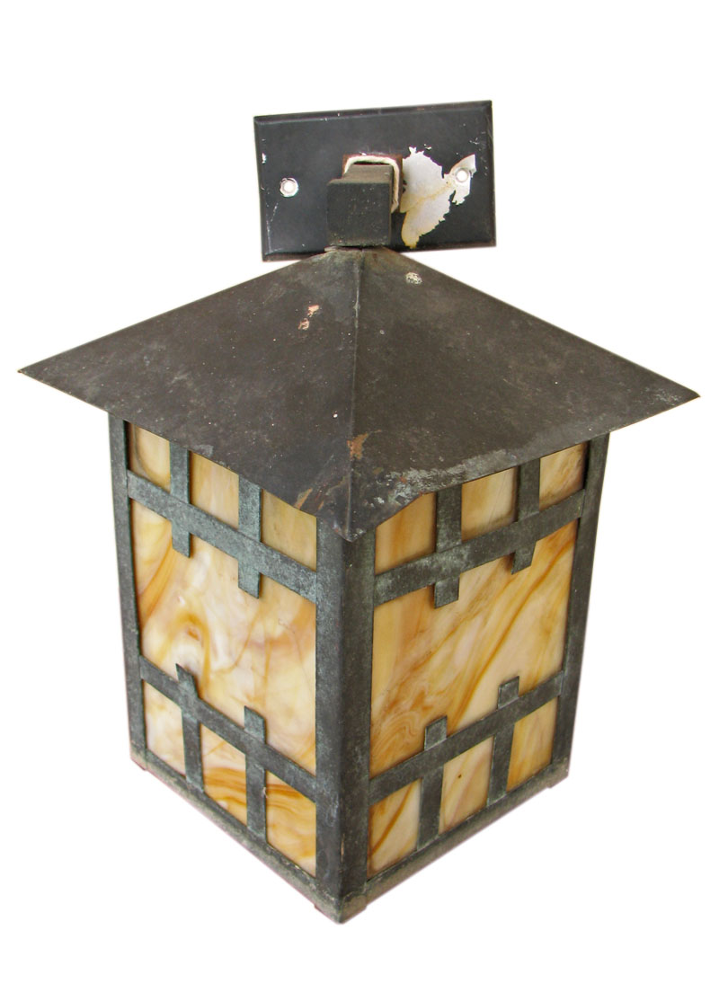 Arts & Crafts  Lantern And Mount  |  F1198