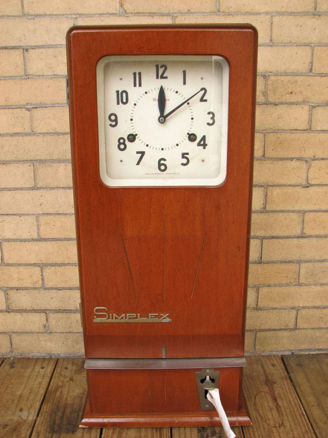 Simplex  Time Recorder  |  F6370