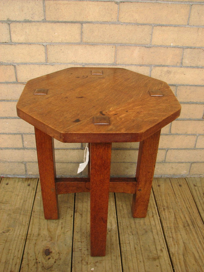 L&jg Stickley  Tabouret  |  F645