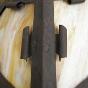 Arts & Crafts  Hanging Lamp     F6794