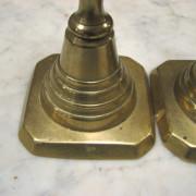 Brass  Candlestick Holders     F6897