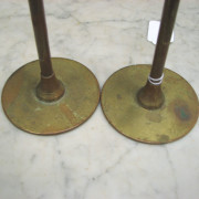 Brass  Candlestick Holders     F6899