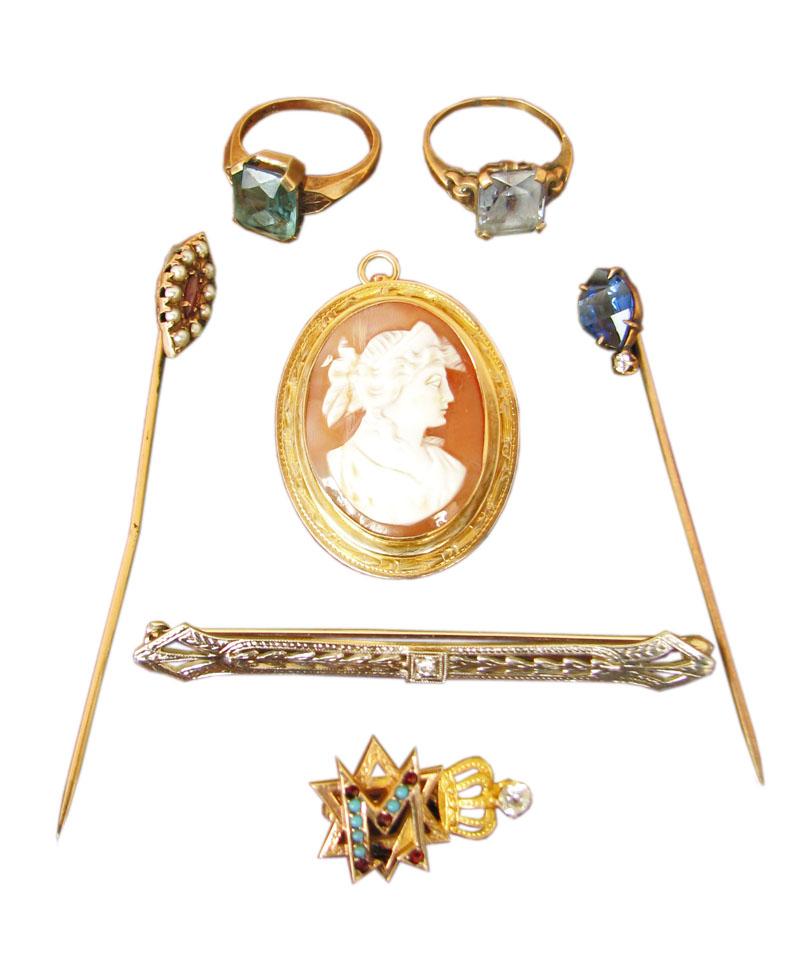 7 Pieces  Estate Jewelry  |  F8220