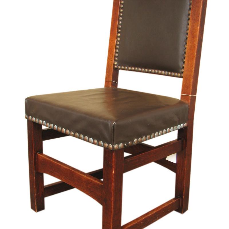 Gustav Stickley Side Chair F8236 1 Joenevo