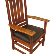 L&jg Stickley  High Back Armchair  |  F8269_1