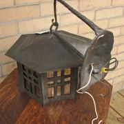 Arts & Crafts  Iron Lantern  |  F9461