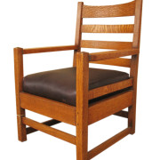 Gustav Stickley  Early Armchair  |  F9515