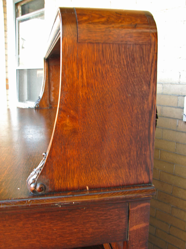 Quarter Oak  Large Sideboard     F9527