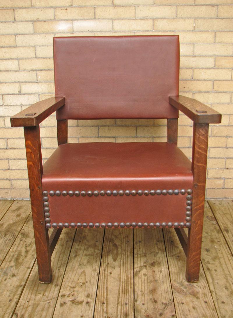 L&jg Stickley  Large Armchair  |  F9718
