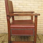L&jg Stickley  Large Armchair     F9718