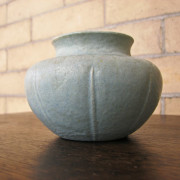 Grueby  Squat Vase     F9789