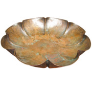Arts & Crafts  Copper Dish  |  F9829