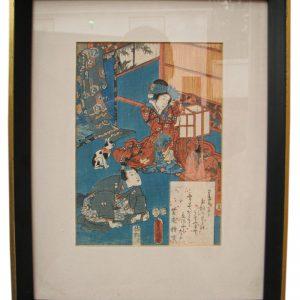 Arts & Crafts  Woodblock Print  |  F9865_2