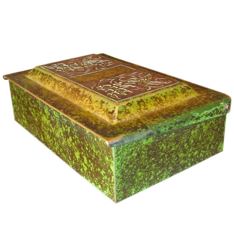 Heintz  Lidded Box     FF456