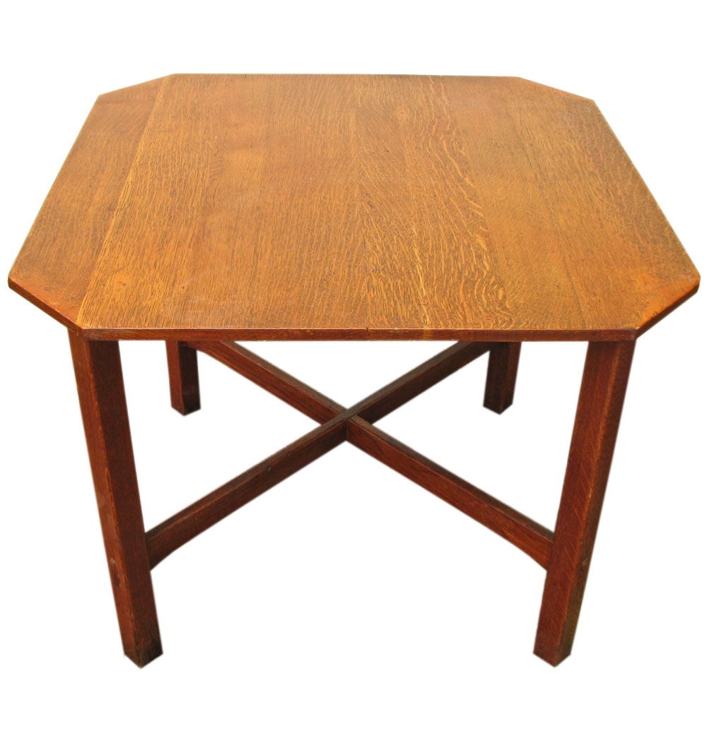 L&JG Stickley Square Table F115_1