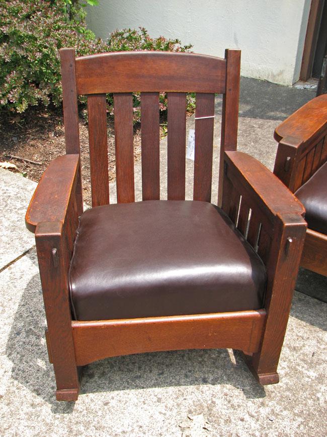 Arts & Crafts Settle, Rocker, Chair F7031