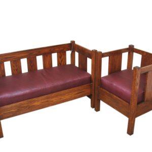 Lifetime Settee & Chair F850