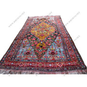 Superb Beautiful Hand Knotted Persian Bachtiary Handmade Oriental Rugs rr2858