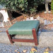 Gustav Stickley Antique Footstool |  w1707