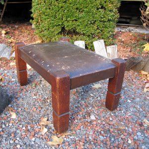 Antique Stickley bros foot stool w2711