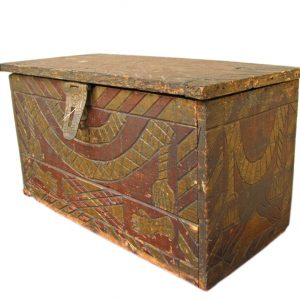 Mason Carved Box F123