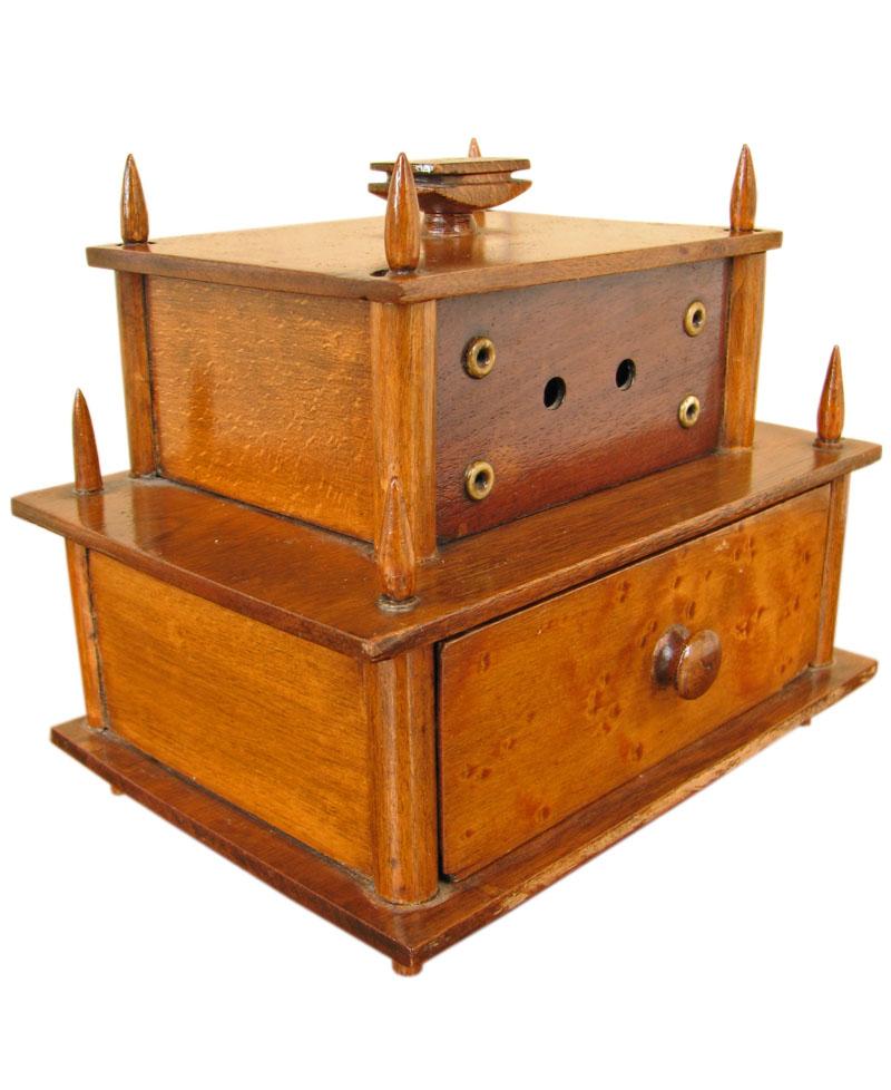 19Th Century  Sewing Box F179