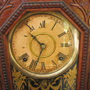 Gilbert Clock Co. Gingerbread Clock F181