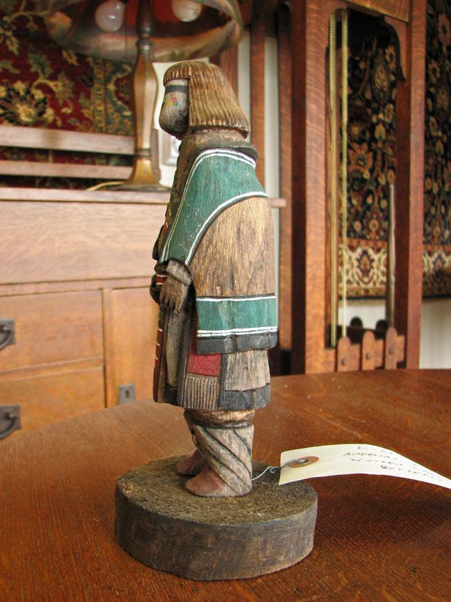 Native American  Carved Figure  F6568