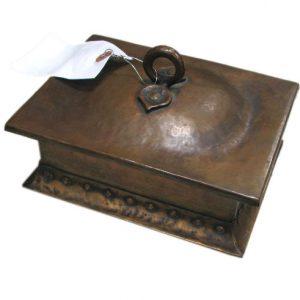Gustav Stickley Copper Box F6848