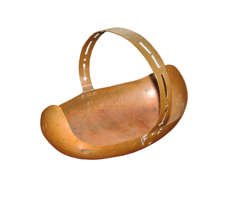 Dirck Van Erp Copper Basket F7083
