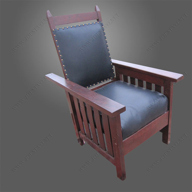 Antique Mission Arts And Crafts Morris Chair f882