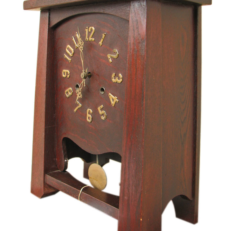 Arts & Crafts  Mantle Clock F9600