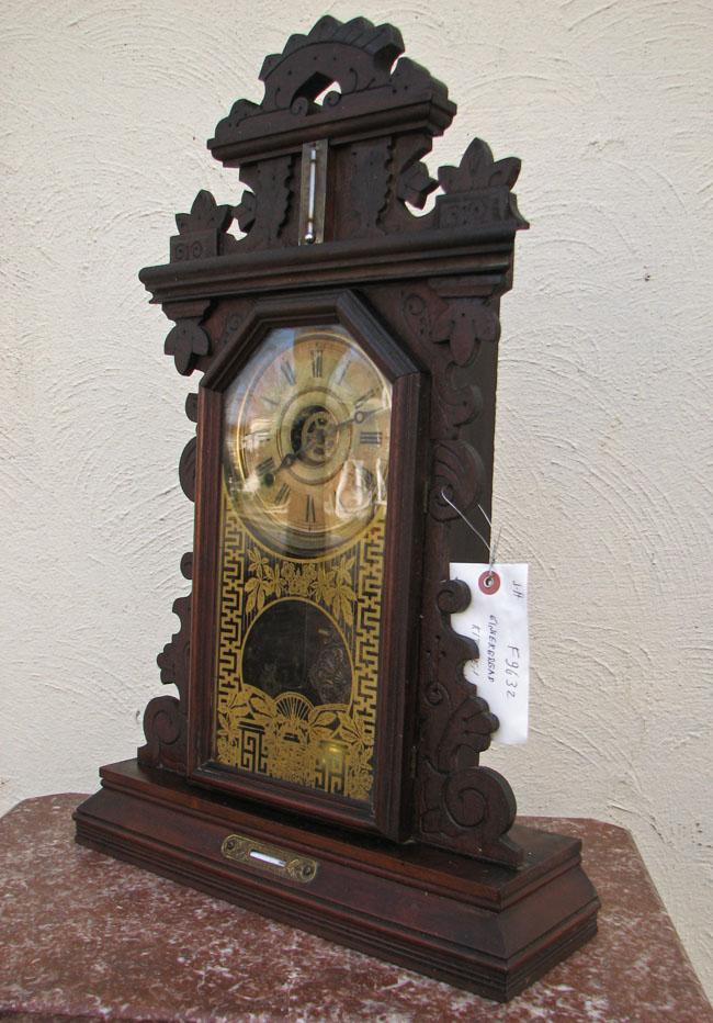 Gingerbread  Mantel Clock F9632
